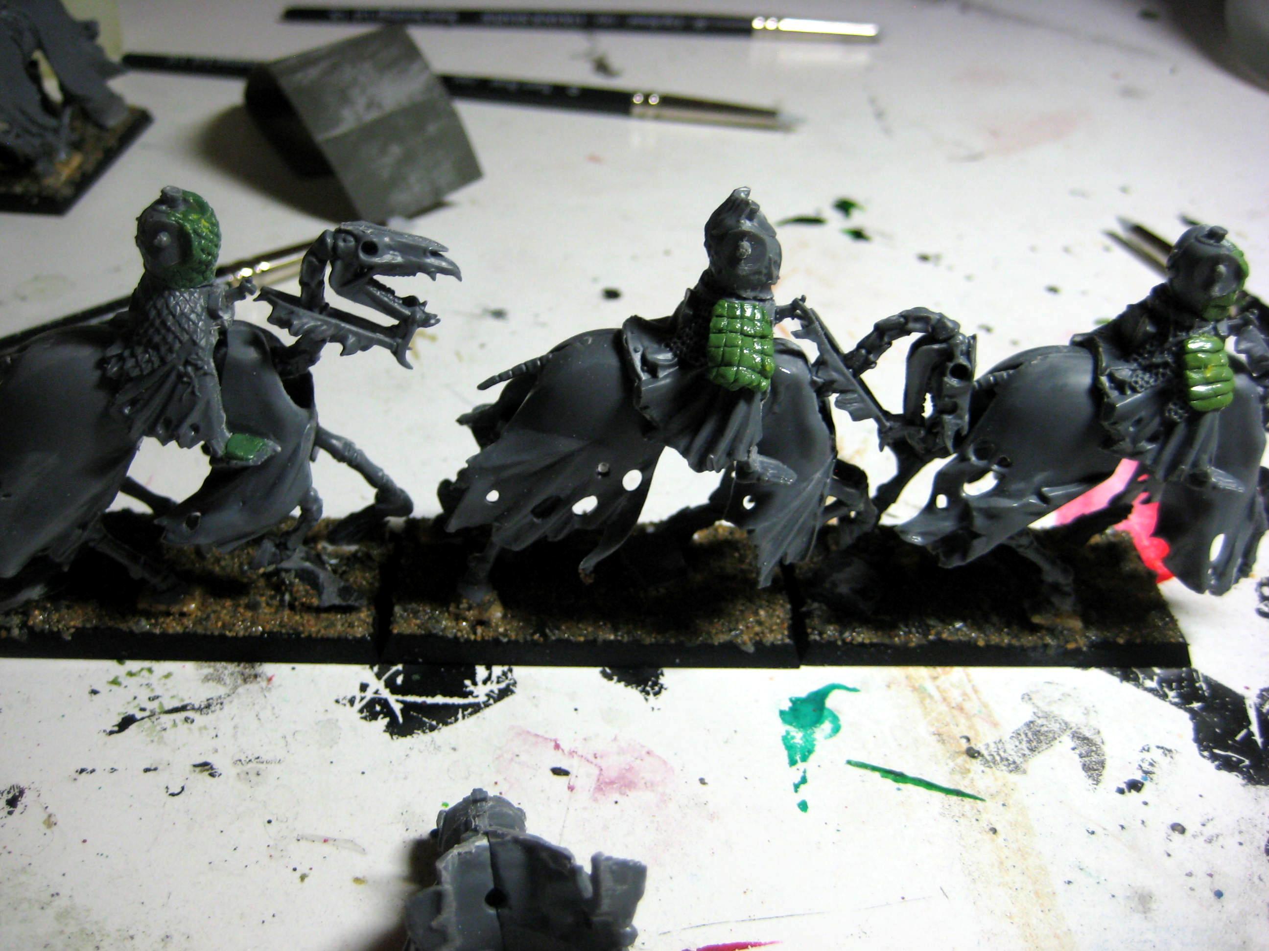 Black Knights, Knights, Samurai, Undead, Vampire Counts, Warhammer Fantasy