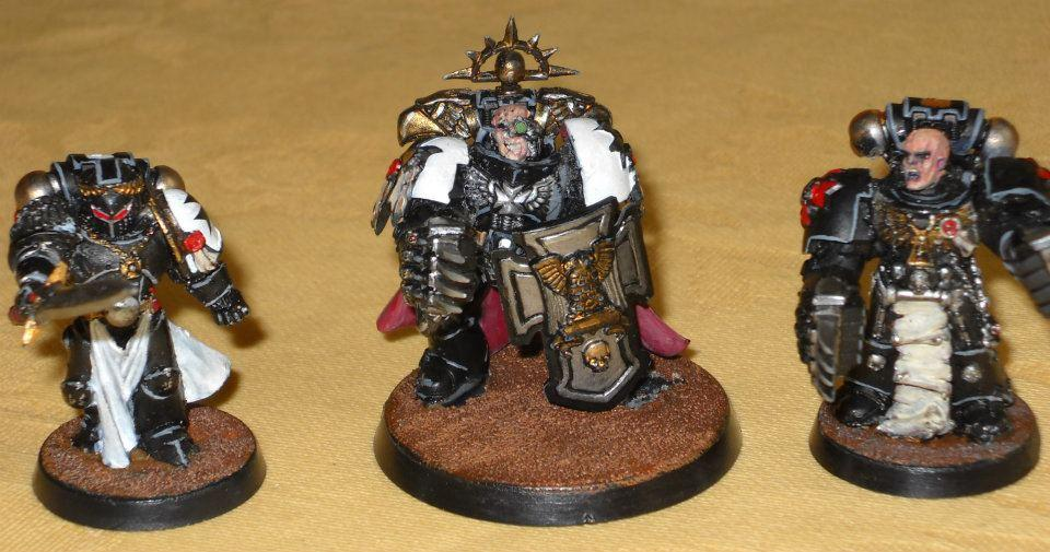 Black, Chaplain; Emperor's Champion, Headquarters, Marshal, Templars