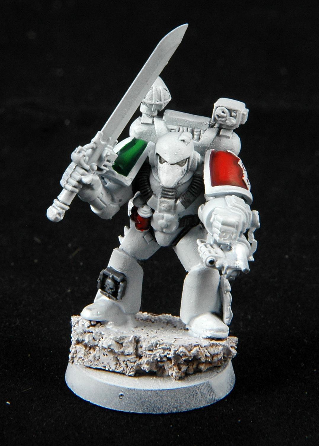 Apothecary, Mantis Warriors, Space Marines, Warhammer 40,000, Work In Progress
