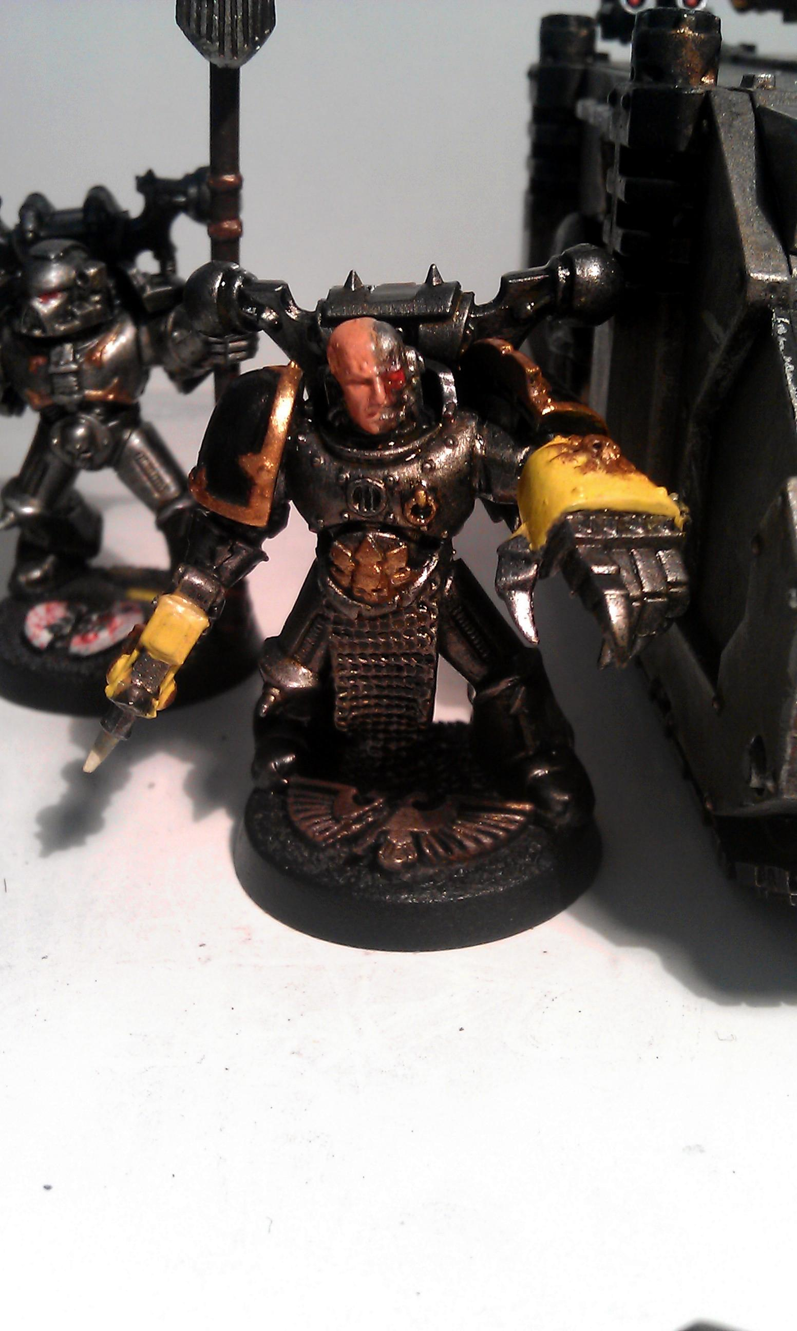 Chaos, Iron Warriors, Work In Progress