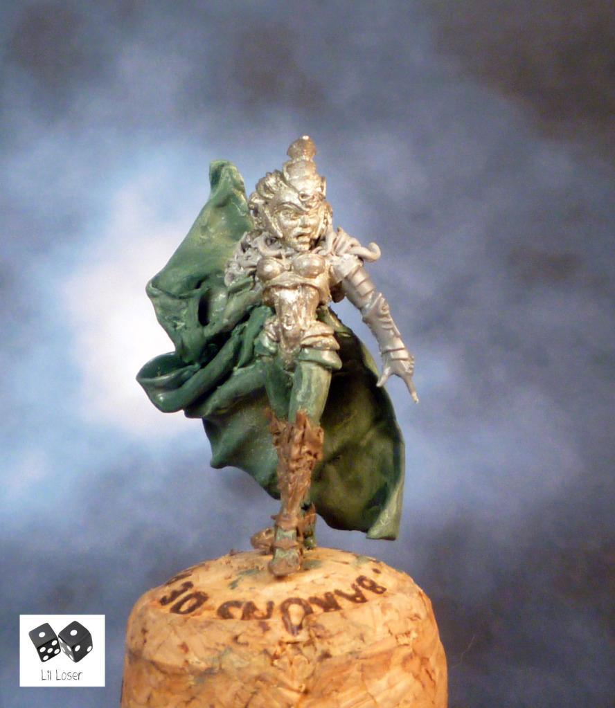 Ch'ihll, Conversion, Dark Elf Sorceress, Dark Elves, Druchii, High Sorceress, Naggarond