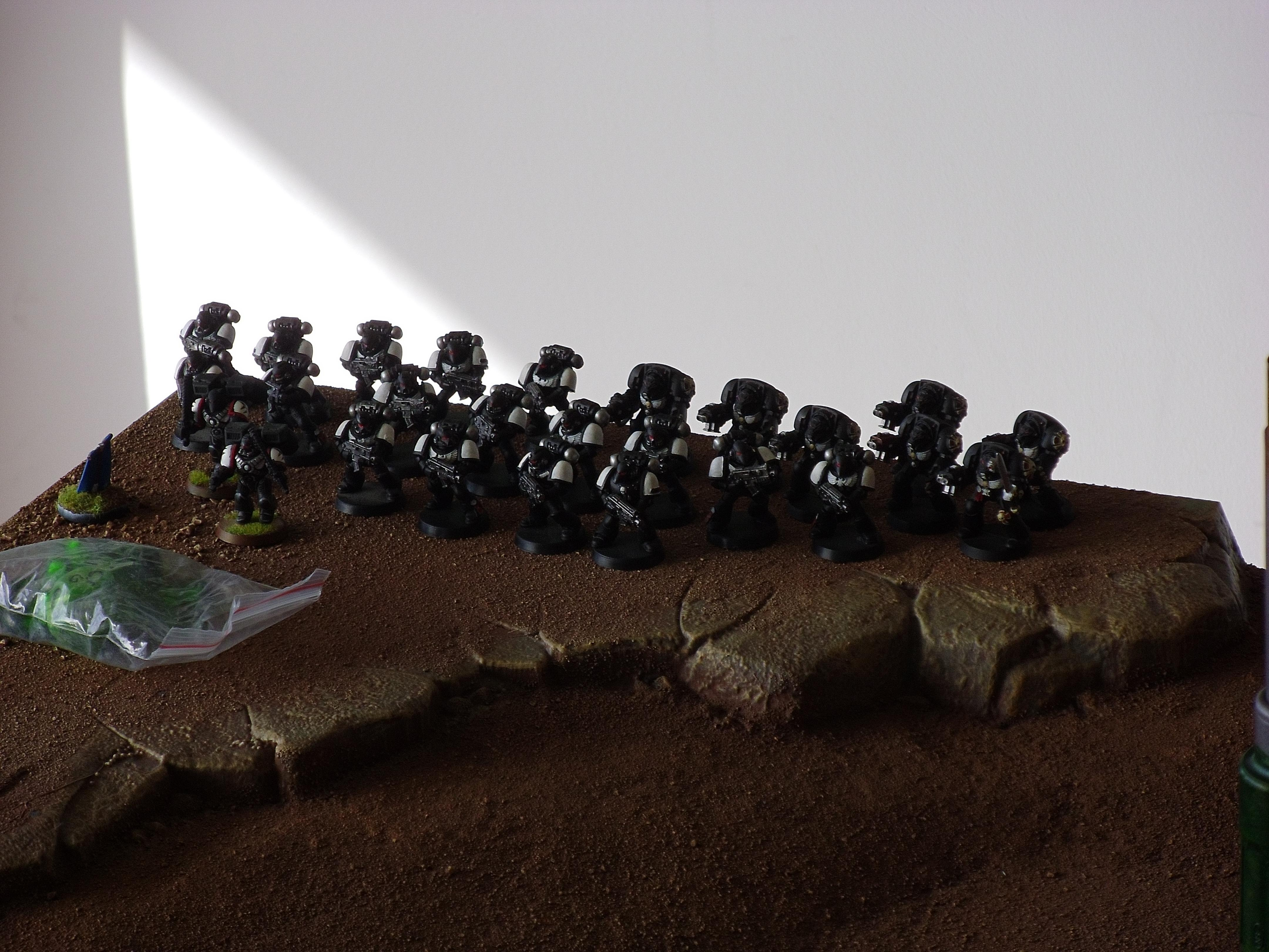 Battle Report, Black Templars, Dreadnought, Imperial Fists, Space Marines, Warhammer 40,000