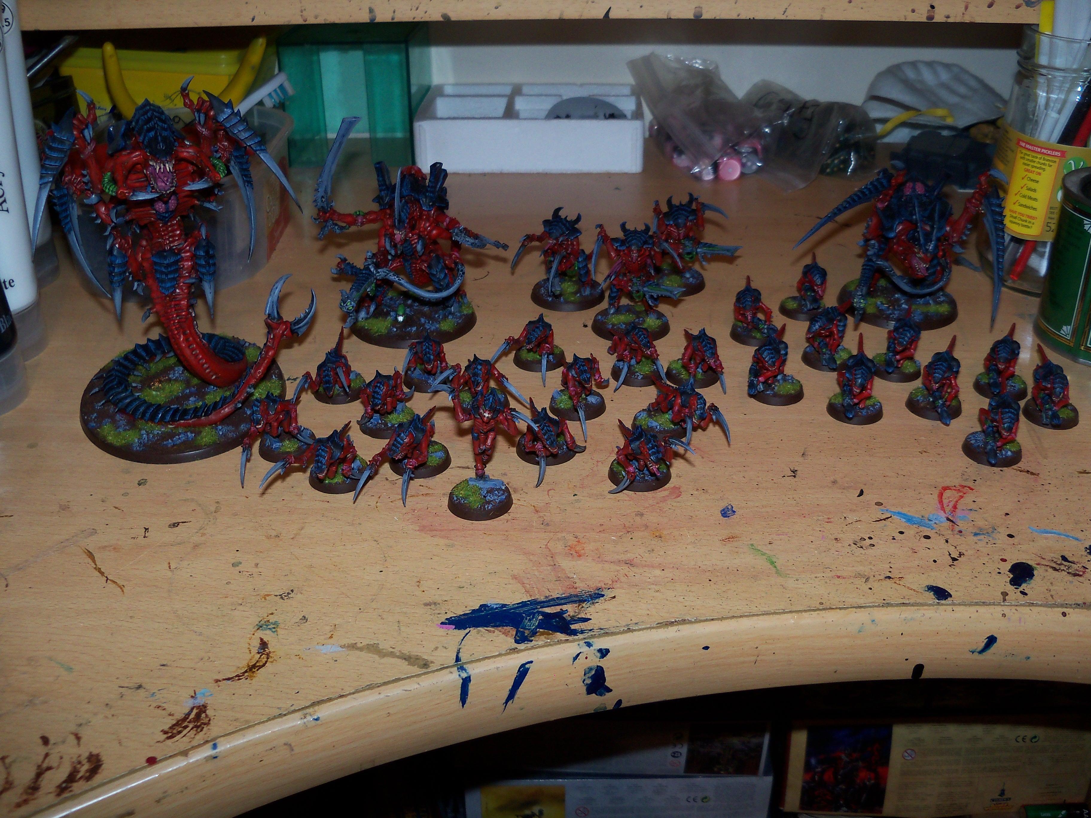 Tyranids, Warhammer 40%27000, Warhammer 40'000, Warhammer 40,000