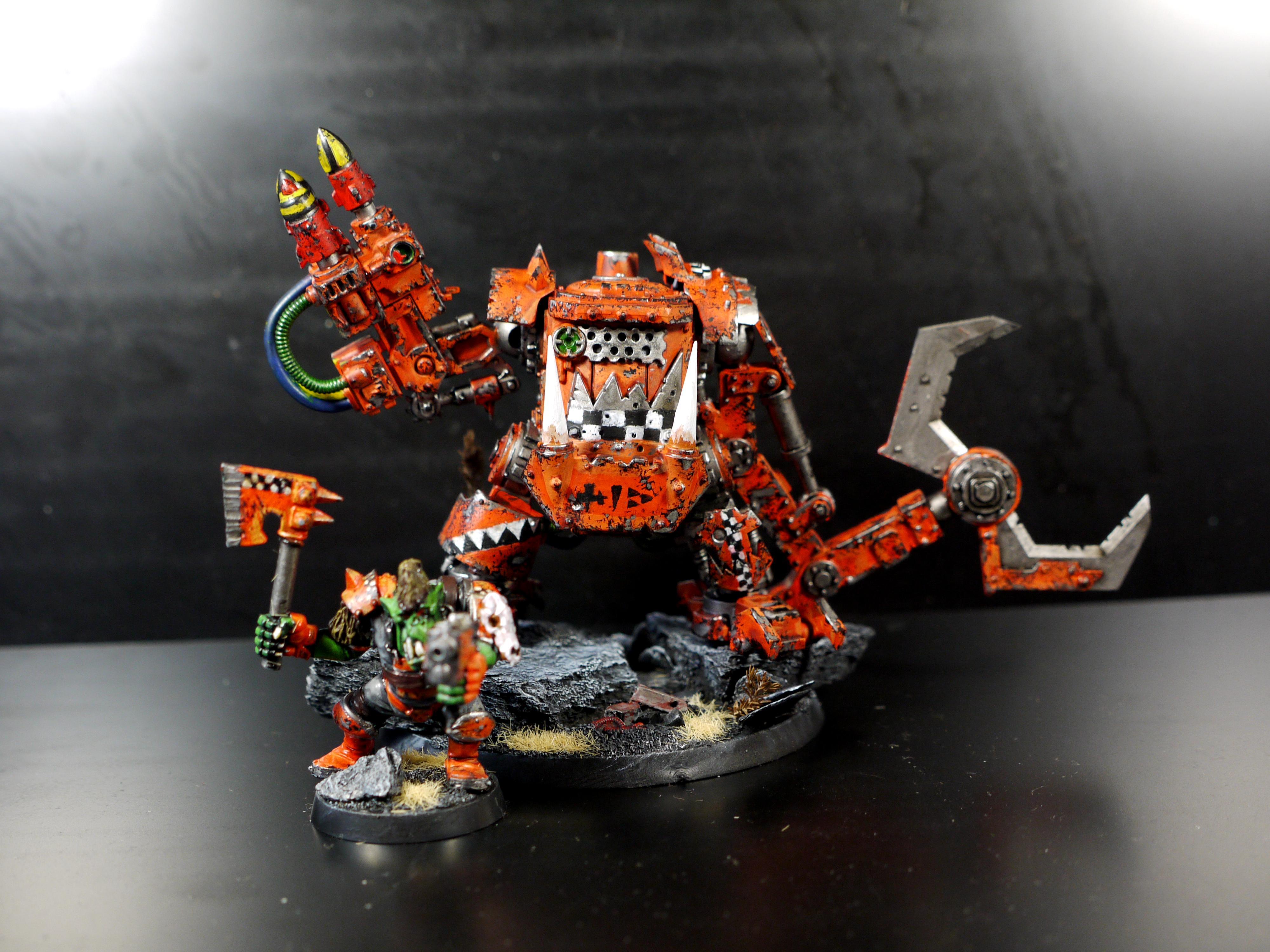 Convertion, Killa Kan, Loot, Orange, Orks