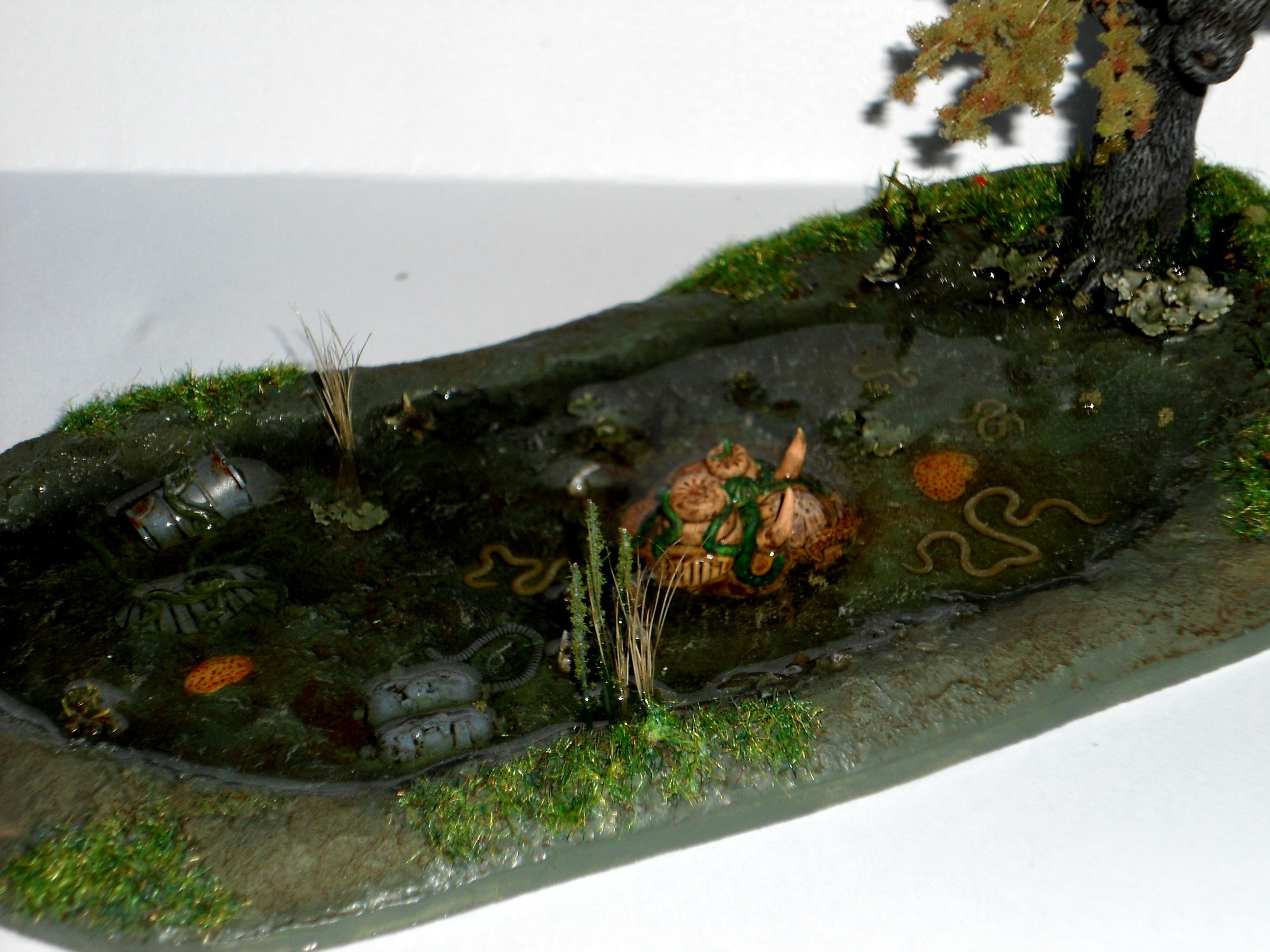 Lake and Salix
