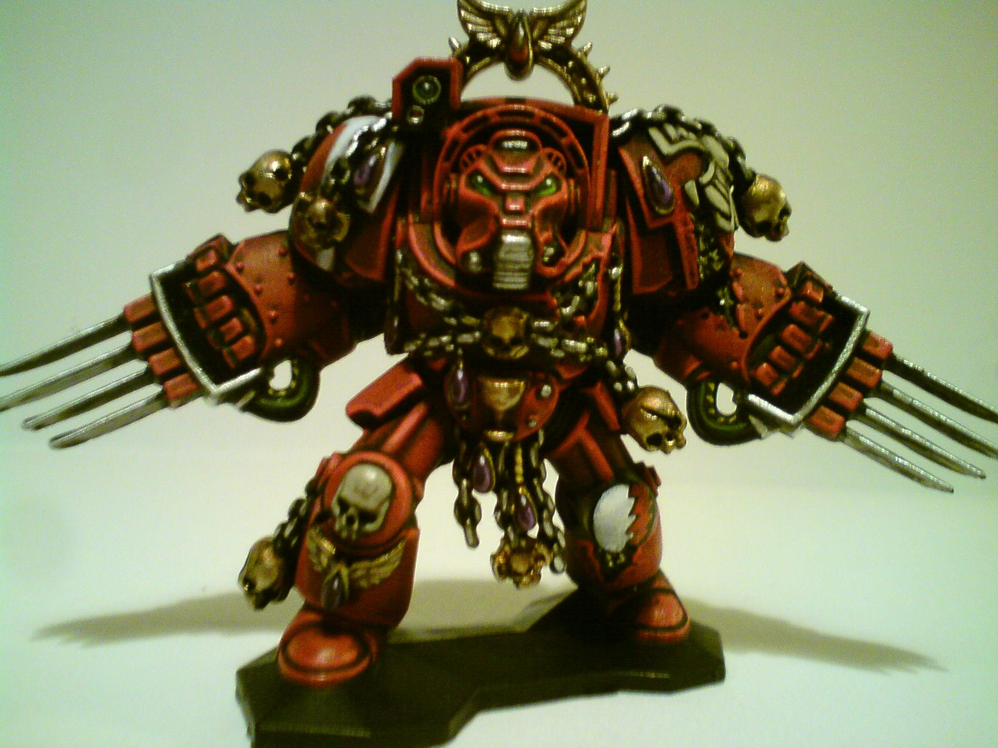 Blood Angels, Space Hulk, Space Marines, Terminator Armor