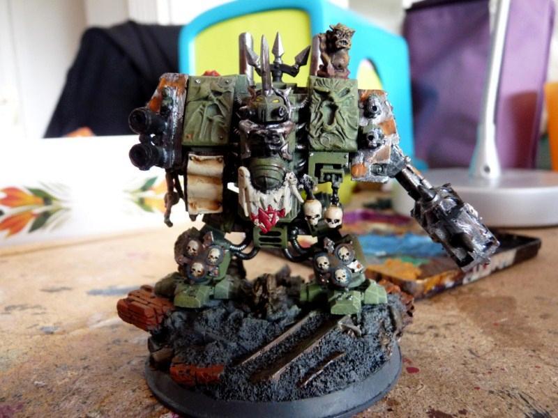 Chaos, Dreadnought, Nurgle, Warhammer 40,000