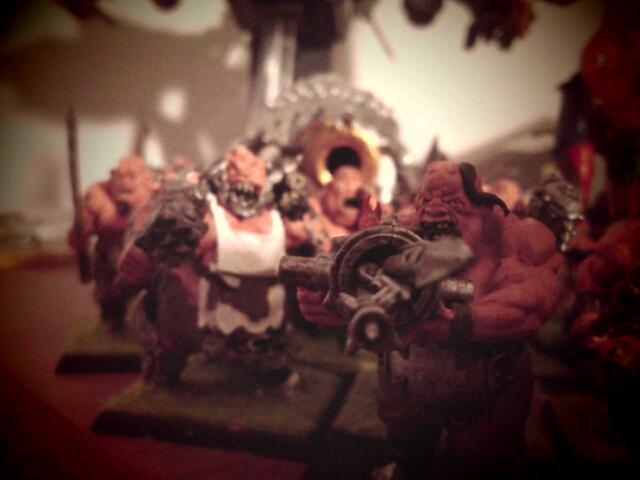 Bull, Butcher, Leadbelcher, Ogres, Slaughter Master