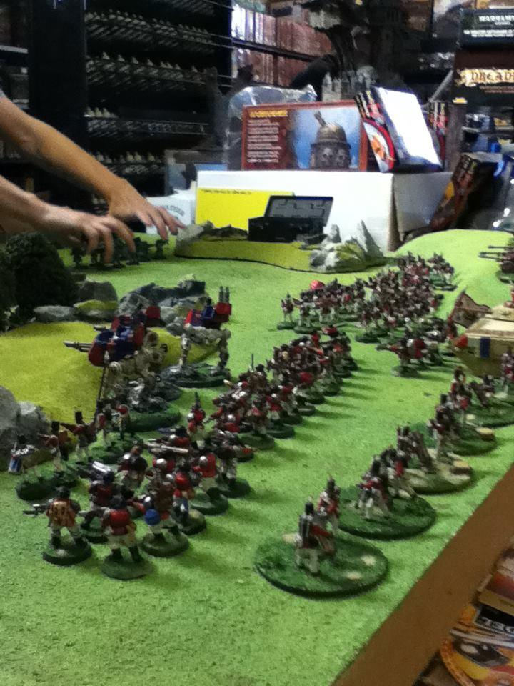 Astra, Battle, Battle Report, Blue, Chimera, French, Green, Imperial Guard, Infantry, Lampy, Militarum, Red, Report, Sentinel, Warhammer 40,000