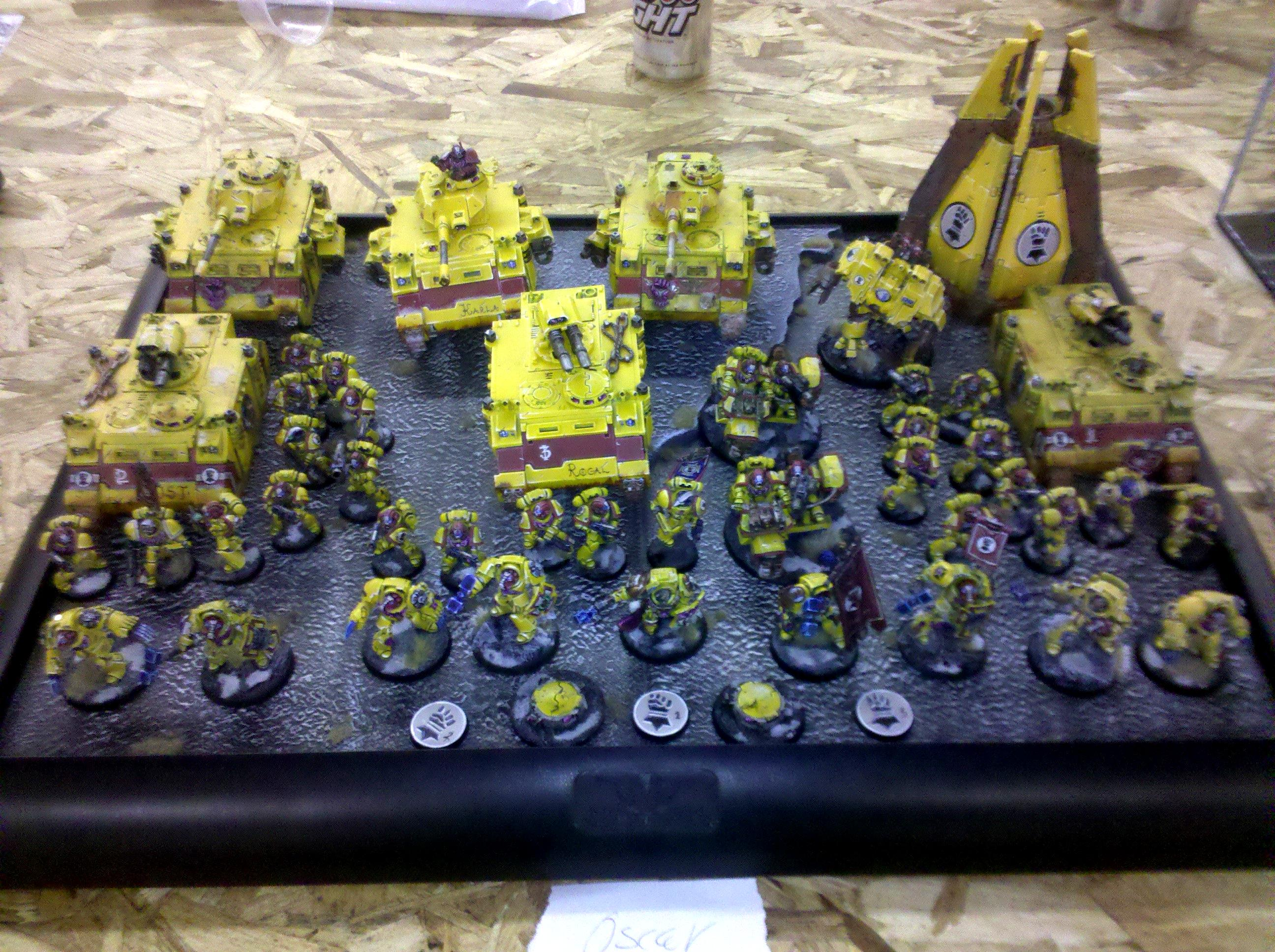 Imperial Fists, Oscar's Imperial fists