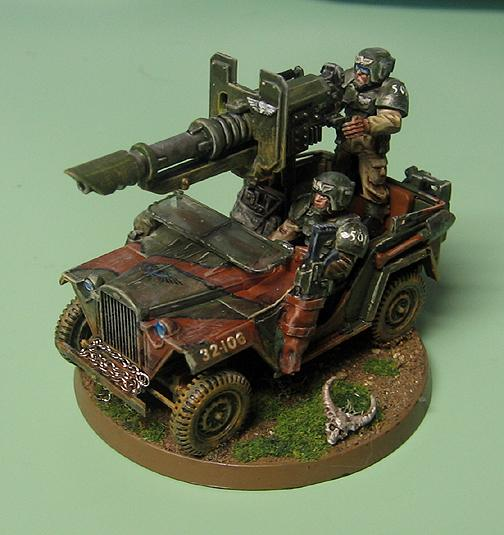 Cars, Imperial Guard, Lascannon