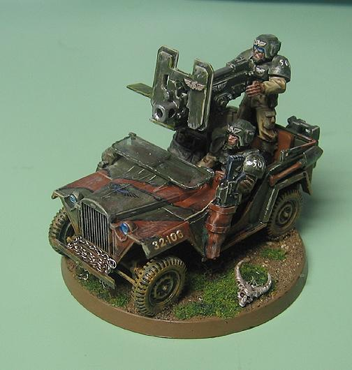 Bolter, Imperial Guard, Jeep