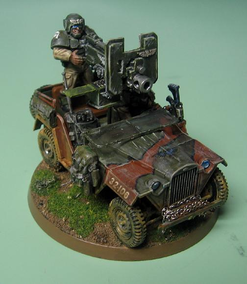 Cadians, Imperial Guard, Jeep