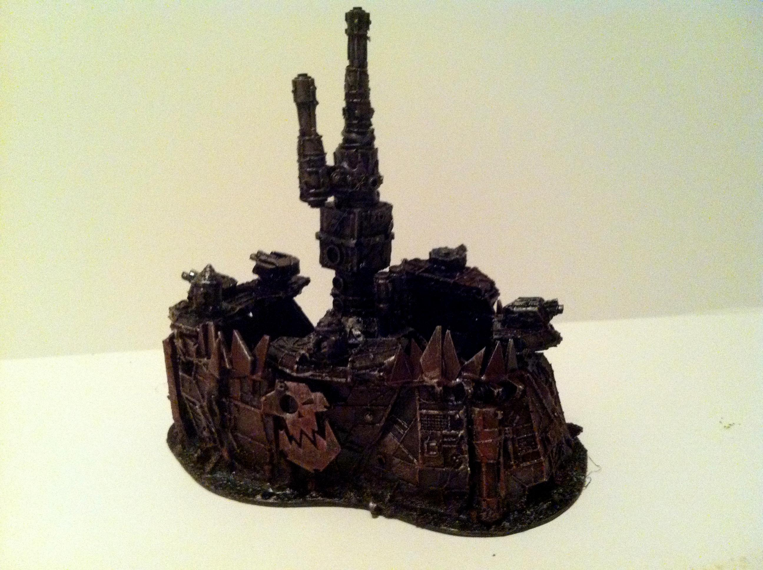 Buildings, Fortress, Ork. Imperial, Space, Space Marines