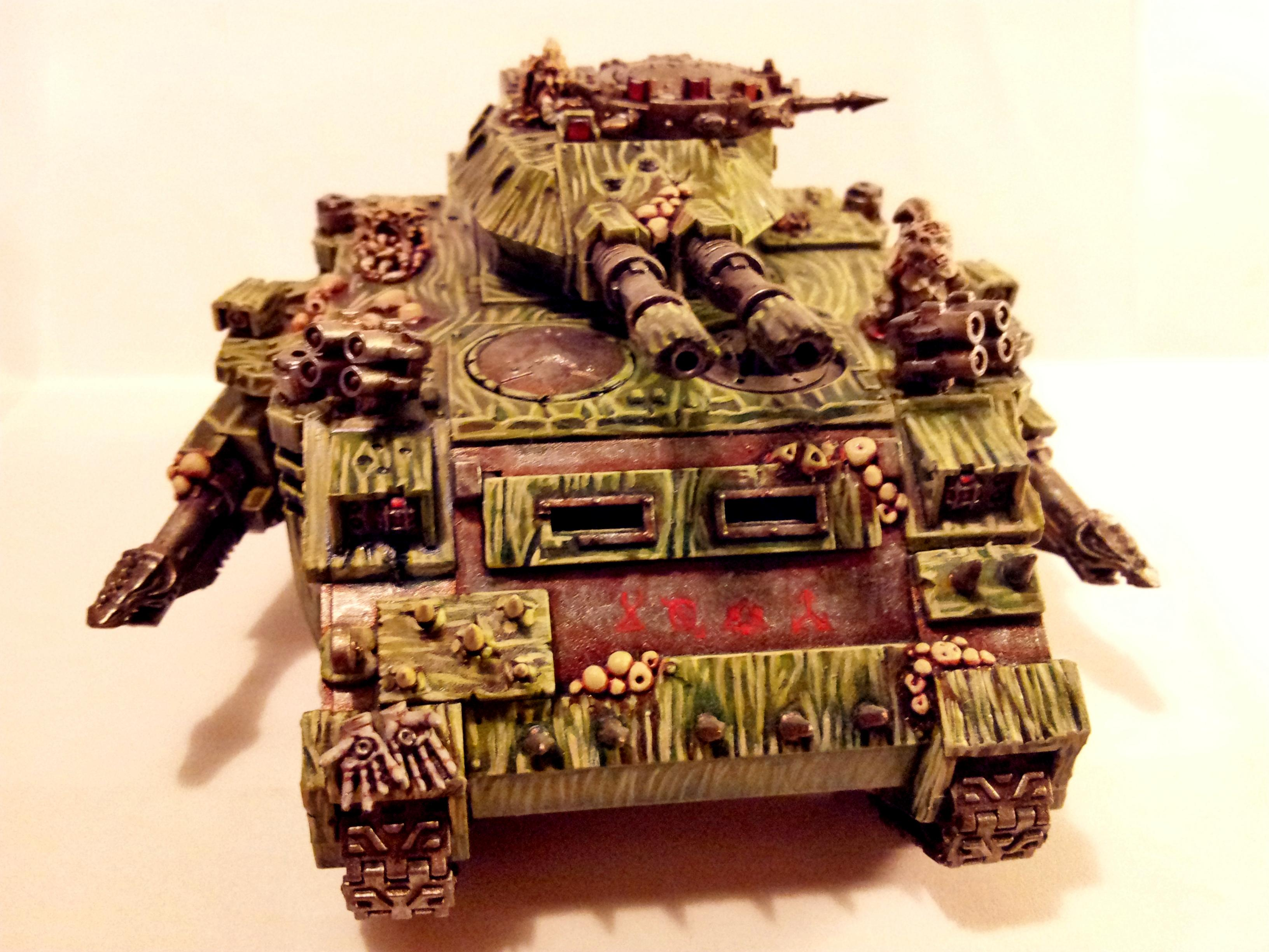 Chaos Space Marines, Chaos Tank, Corrupted, Death Guard, Nurgle, Plague Marines, Predator