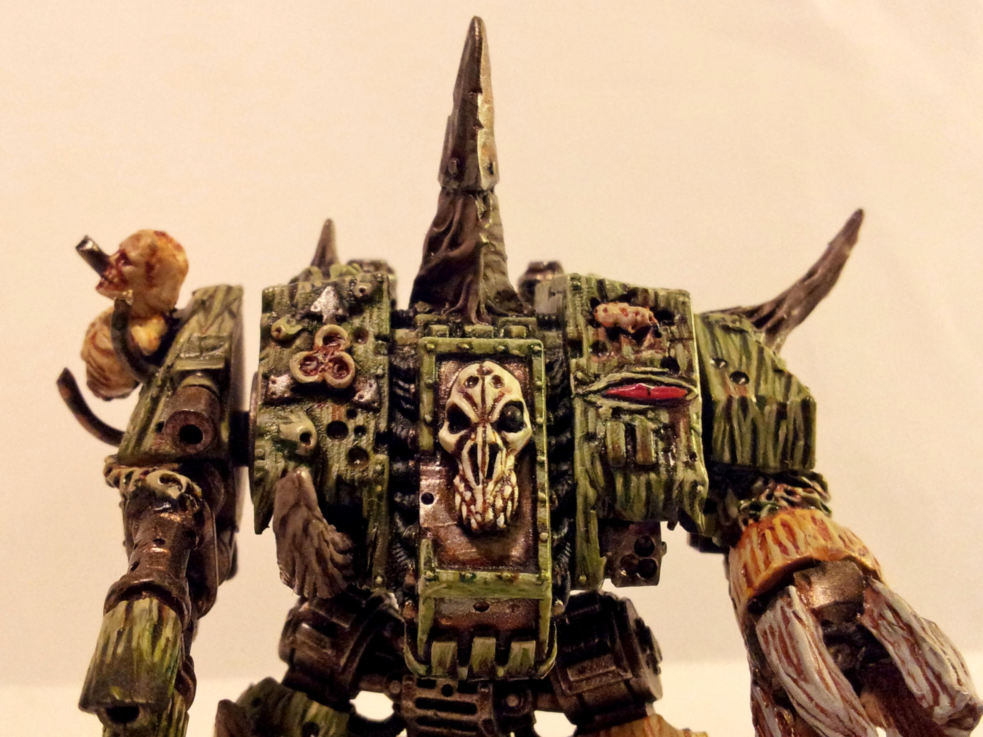 Chaos Dreadnought, Chaos Space Marines, Corrupted, Death Guard, Dreadnought, Nurgle, Plague Marines