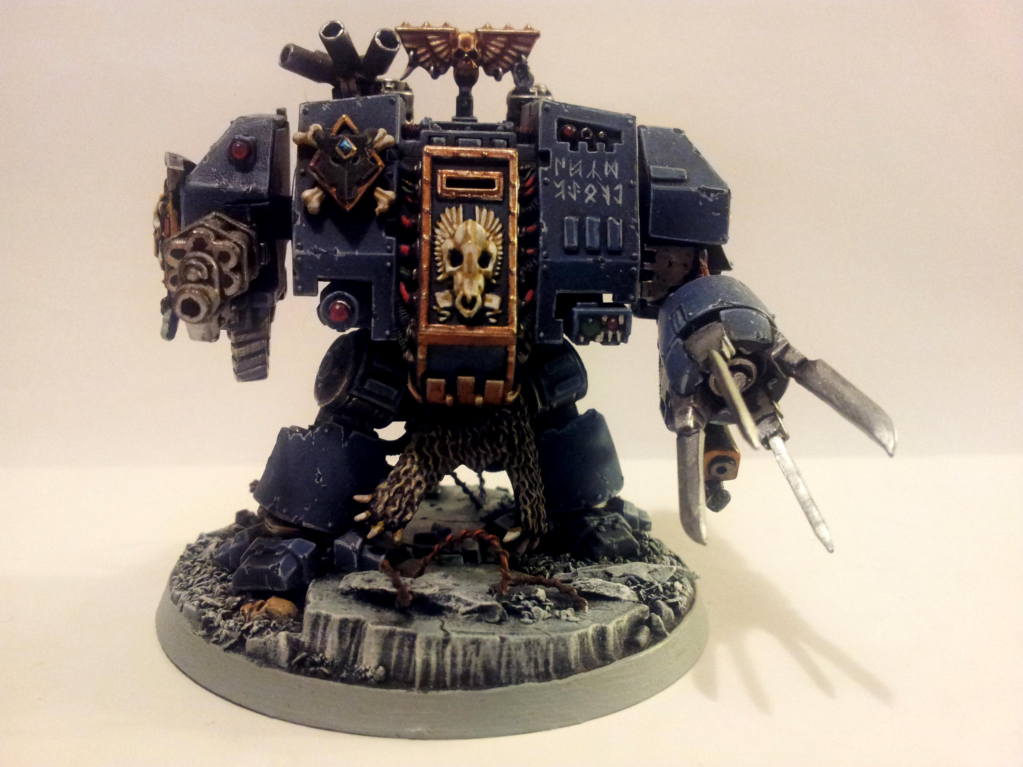 Dreadnought, Space Marines, Space Wolves, Space Wolves Dreadnought