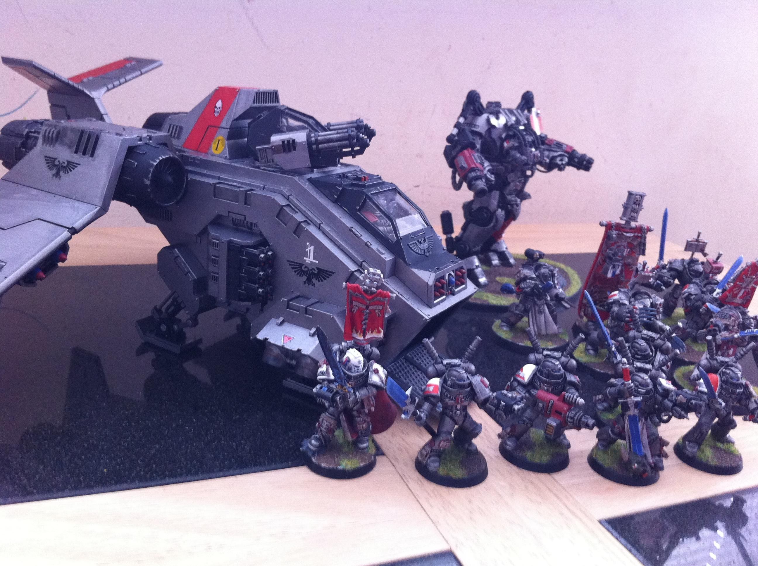 Grey Knights, Gunship, Stormraven