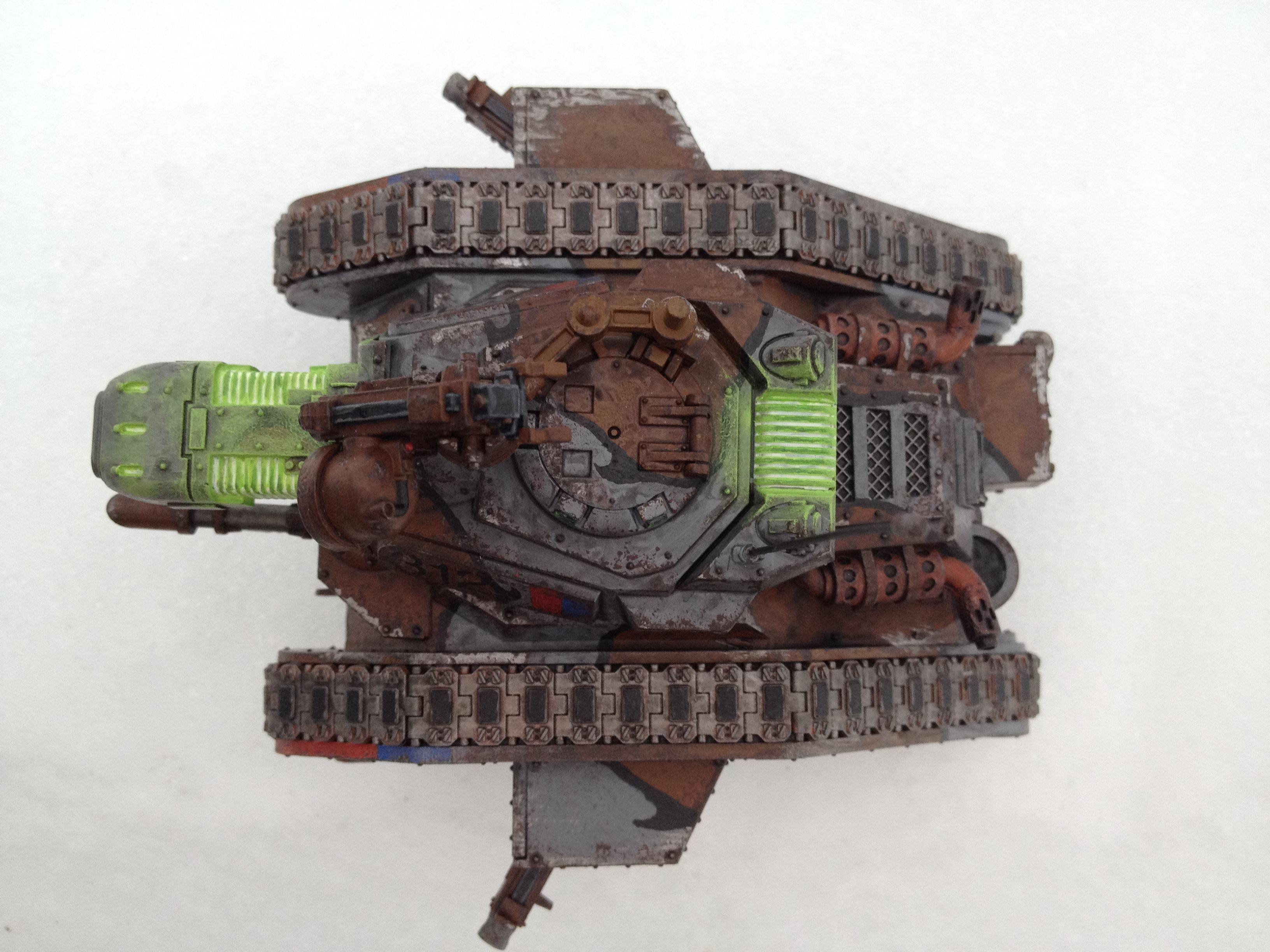 Cadians, Conversion, Executioner, Imperial Guard, Leman Russ, Object Source Lighting, Plasma