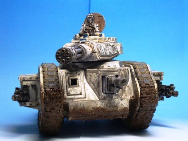 Death Korps of Krieg, Leman Russ, Tank, Warhammer 40,000