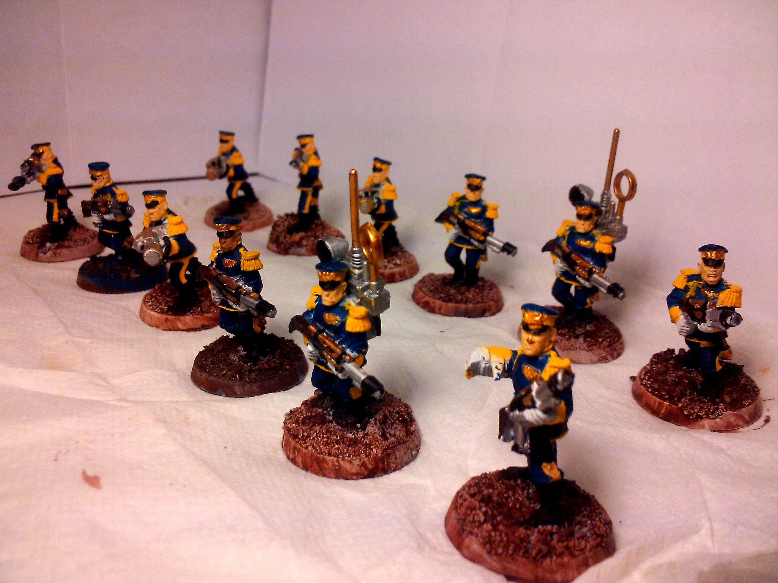 Conversion, Imperial Guard, Mordian Iron Guard, Paint Scheme, Warhammer 40,000