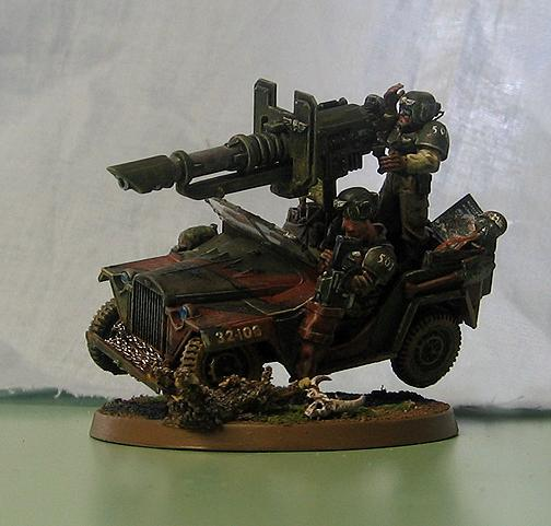 Cadians, Imperial Guard, Jeeep, Jeep