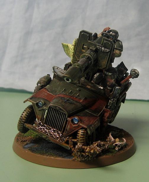 Conversion, Imperial Guard, Jeep, Soviet, Tamiya