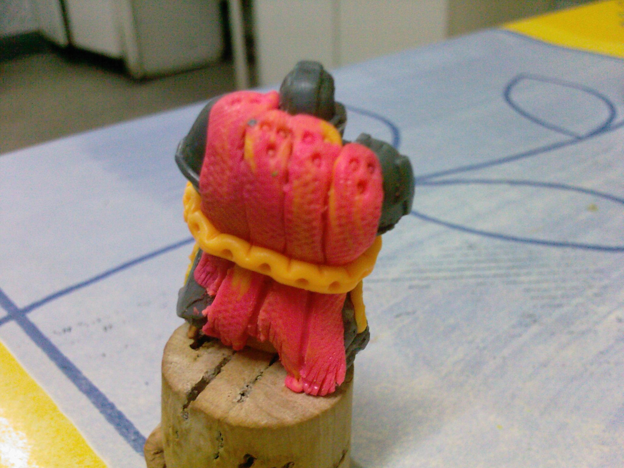 Custom, Sculping, Warior