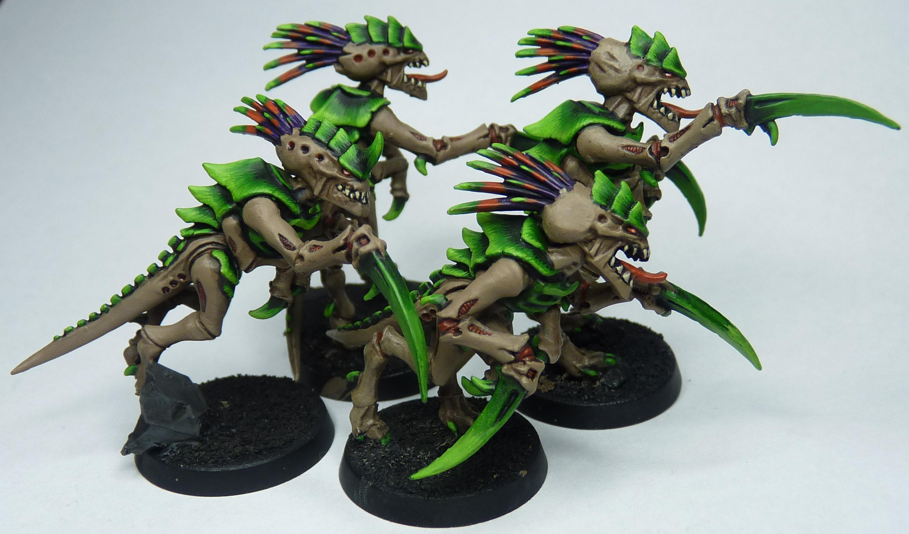 Gaunts, Hormagaunts, Kroot, Kroot Dna, Tyranids