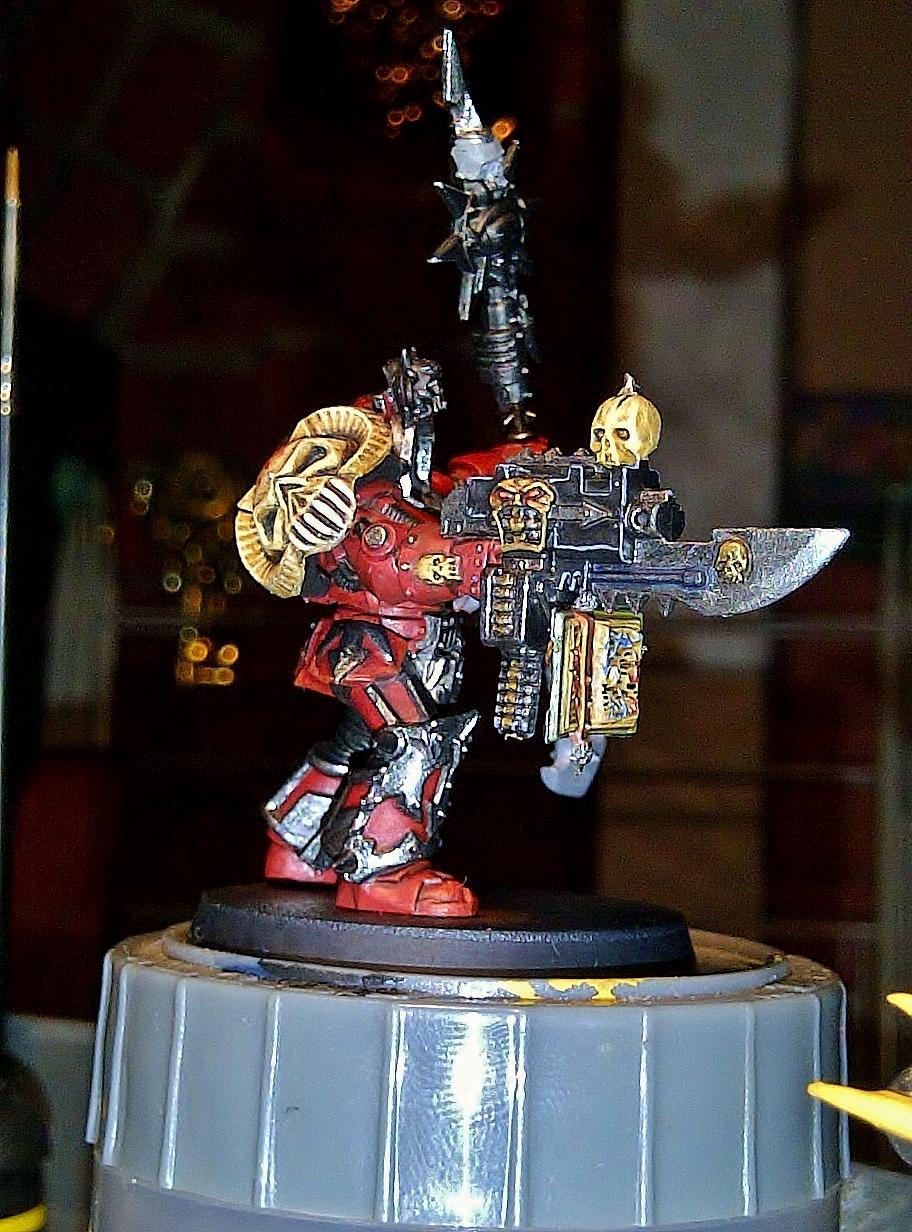 Chaos, Warhammer 40,000, Word Bearers, Work In Progress