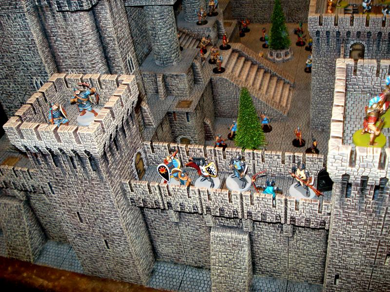 28mm, Castle, Castle Craft, Fortress, Plastic
