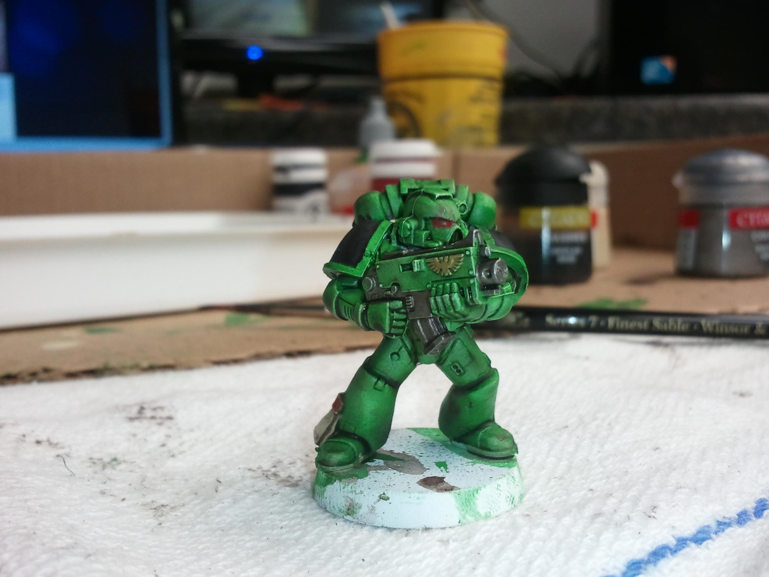 Salamander, Space Marines