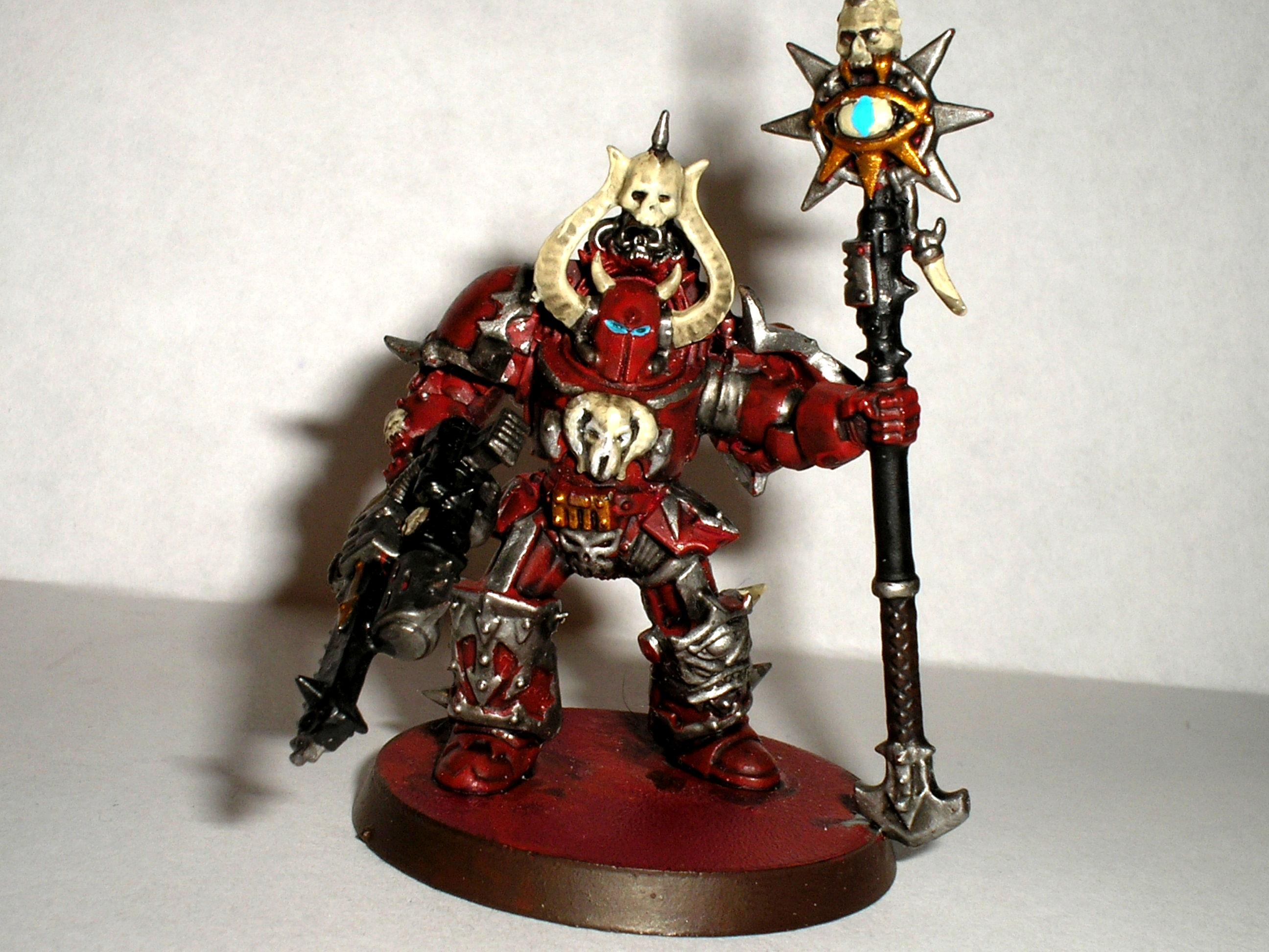 Bearer, Chaos, Chaos Space Marines, Sorceror, Space Marines, Terminator Armor, Word, Word Bearers