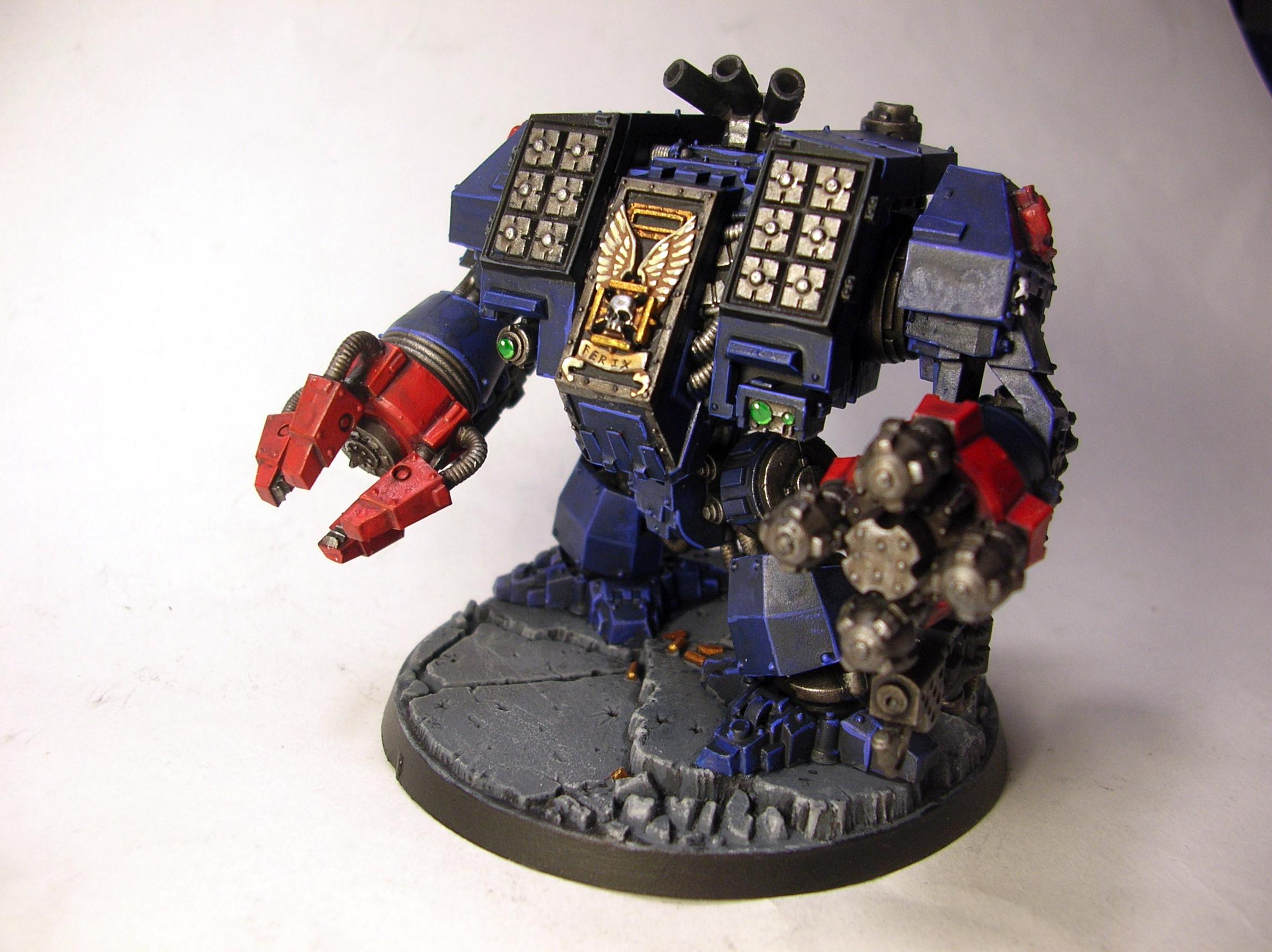 Crimson Fists, Dreadnought, Ironclad, Space Marines
