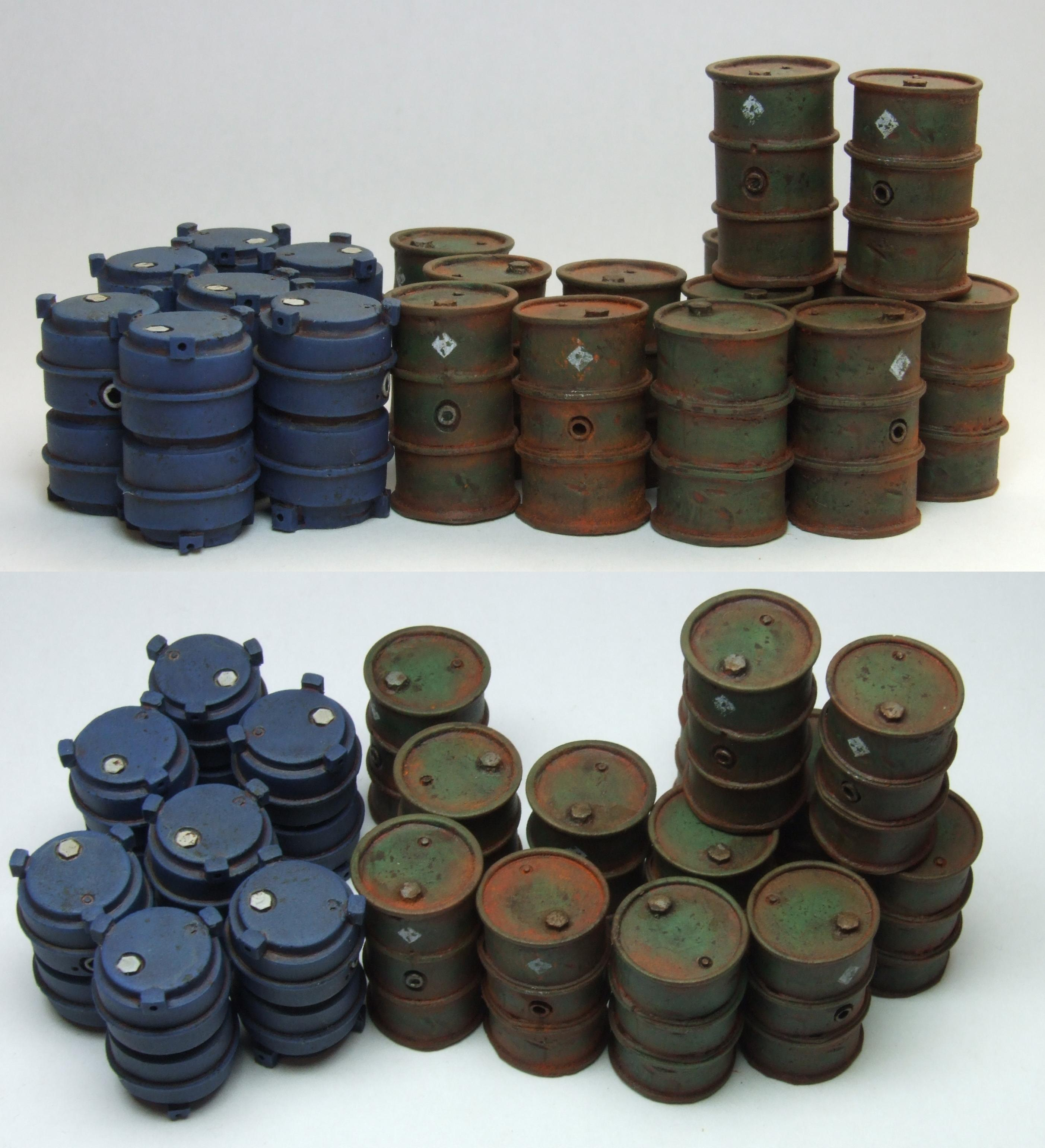 Scatter, Maxi Mini Barrels