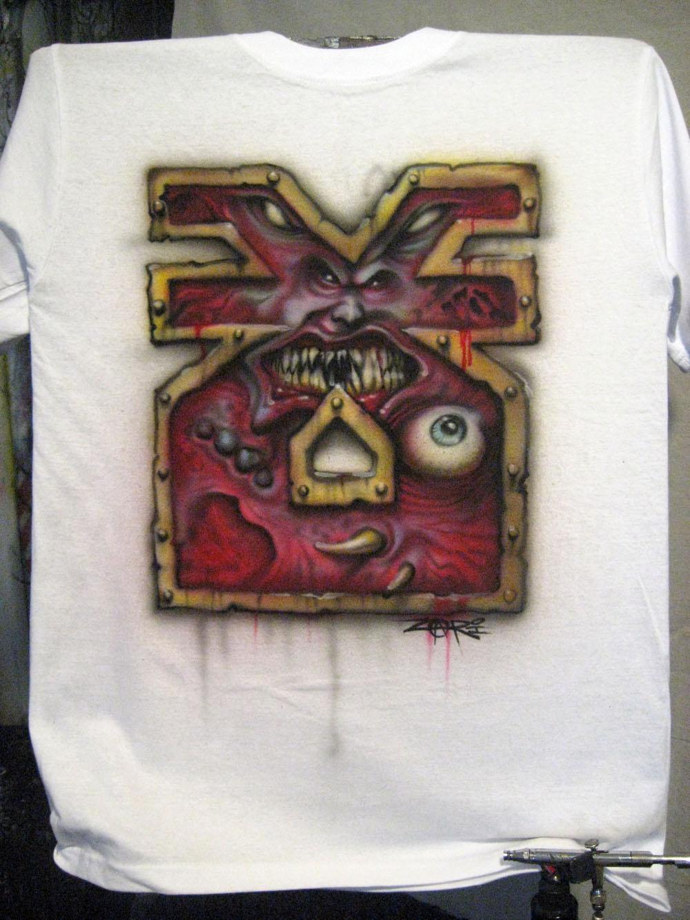 Blood, Chaos, Khorne Symbol, T-shirt, Warp