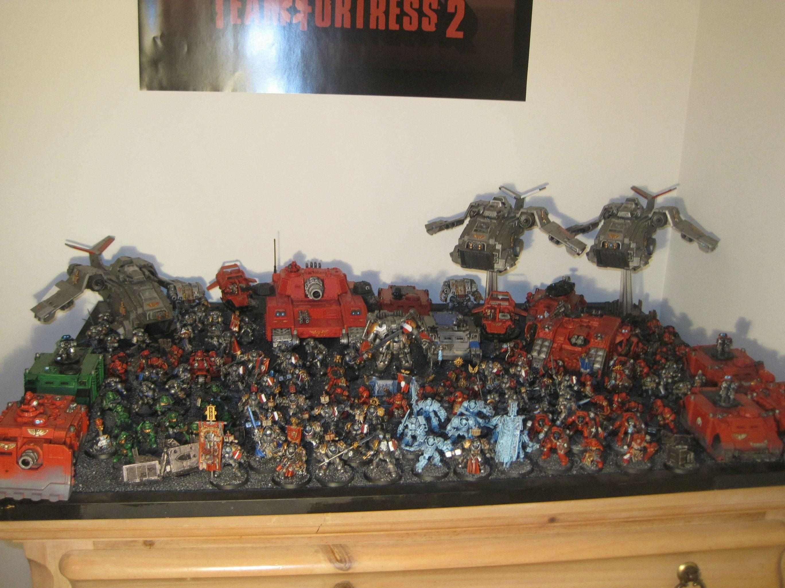 Grey Knights, Space Marines, Stormraven, Stormsword, Super-heavy, Warhammer 40,000