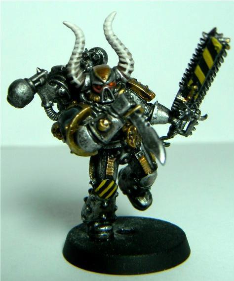 Berserkers, Chaos, Iron Warriors, Space Marines