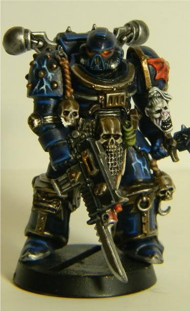 Chaos, Conversion, Cyrion, First Claw, Night Lords, Space Marines, True Scale