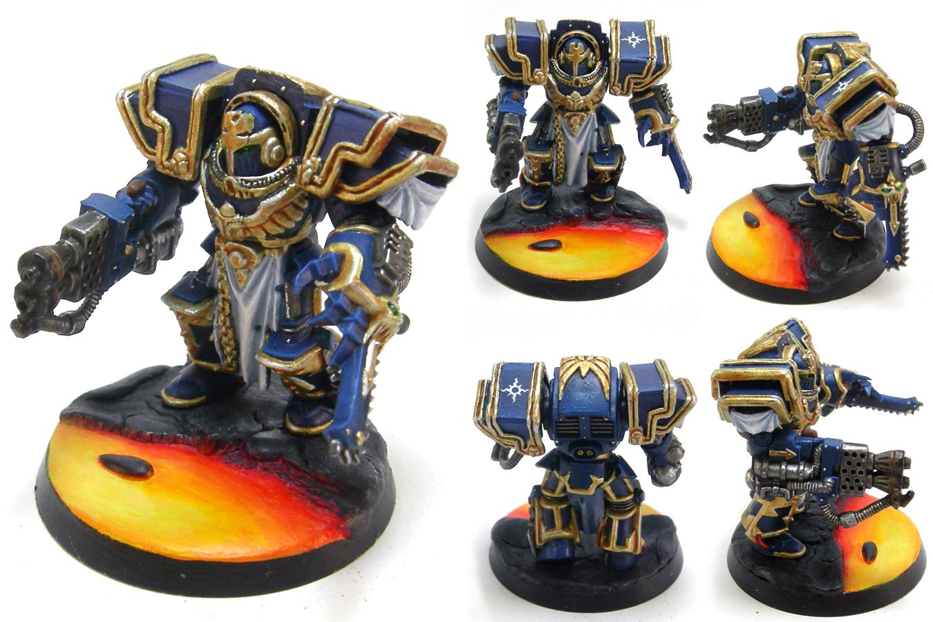 30k, Custom, Lava, Terminator Armor, Thousand Sons