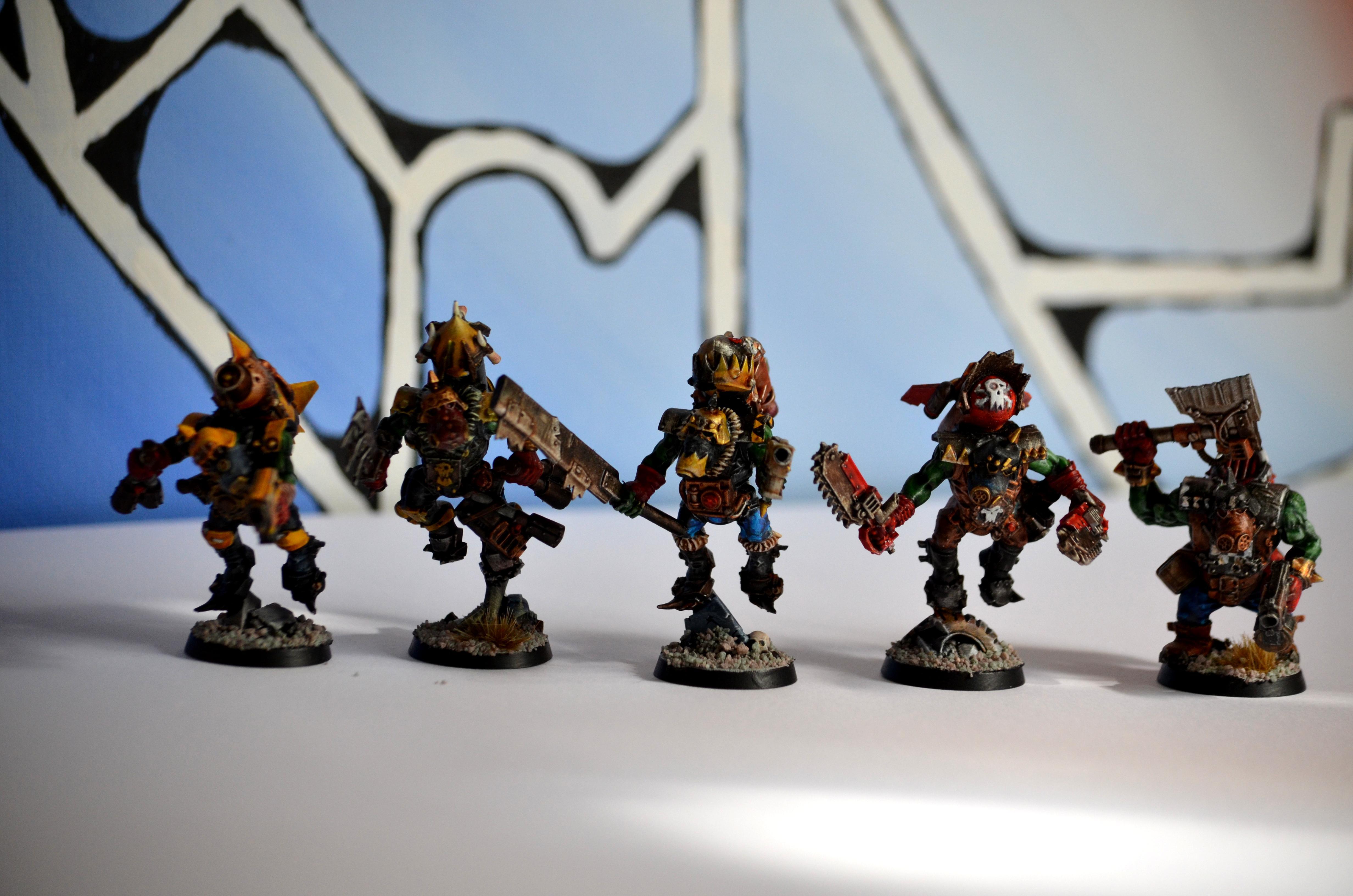 Freebooters, Freebooterz, Orks, Stormboyz