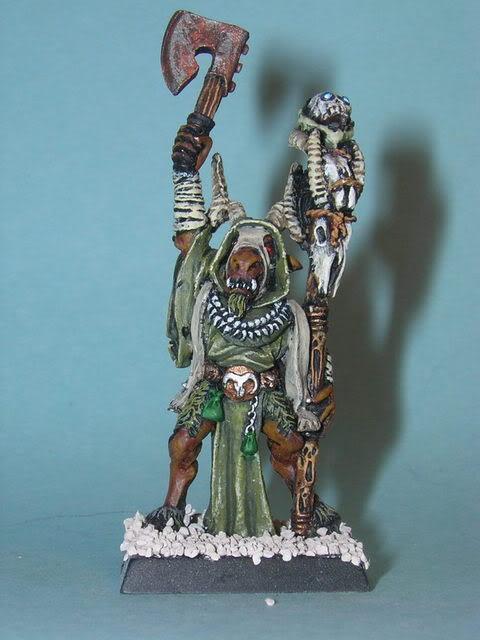 Beasts Of Chaos, Bray shaman front