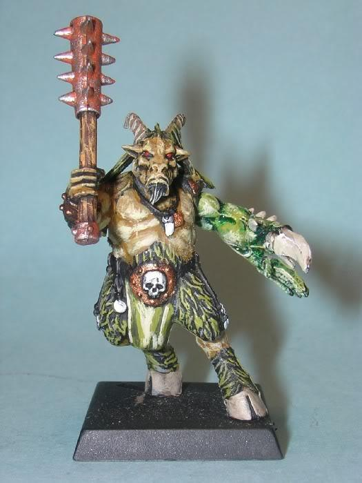 Beasts Of Chaos, Beastman 3 front