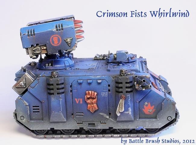 Crimson Fists, Space Marines, Warhammer 40,000, Whirlwind