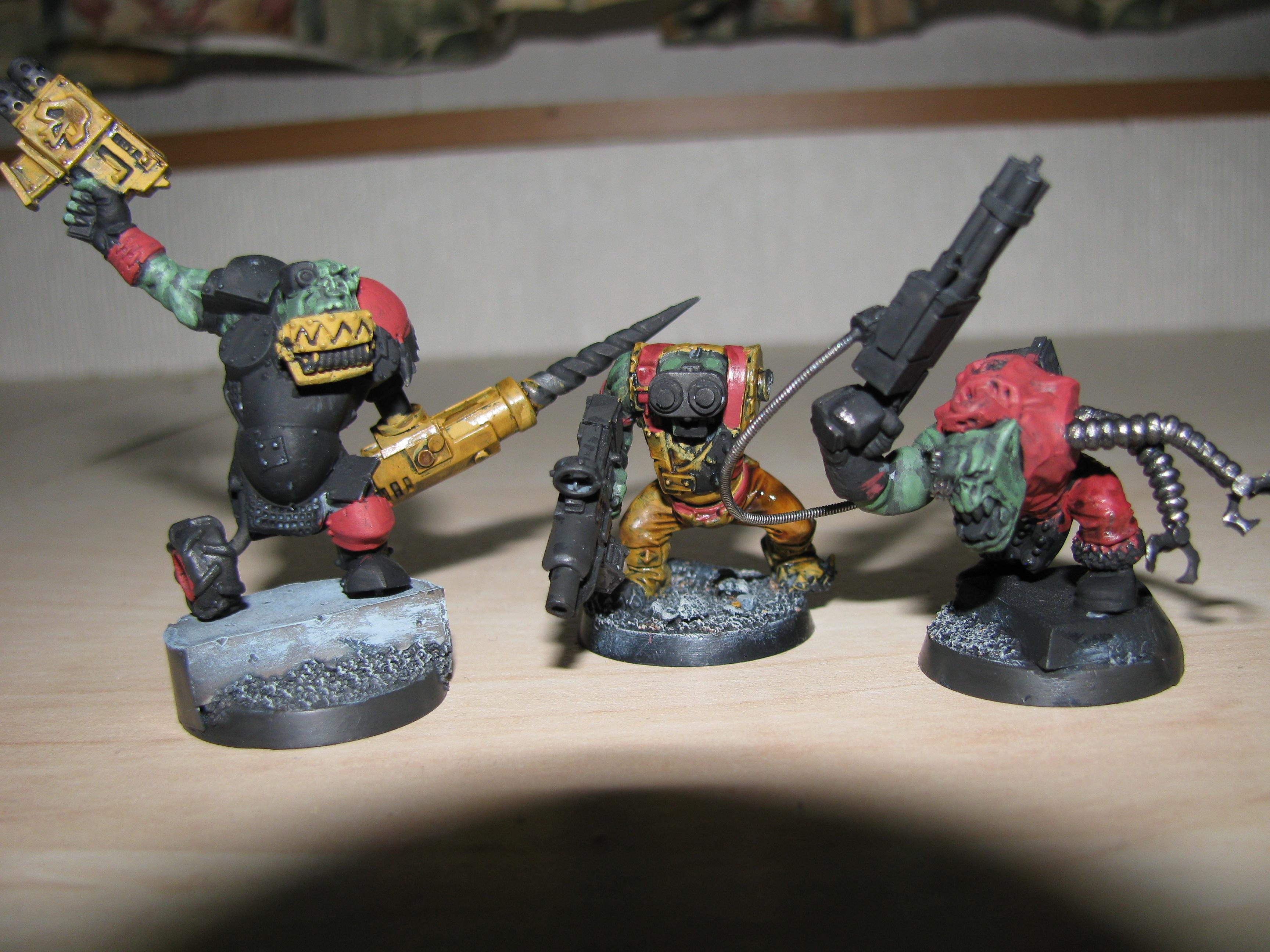 Conversion, Cyborks, Orks, Warhammer 40,000