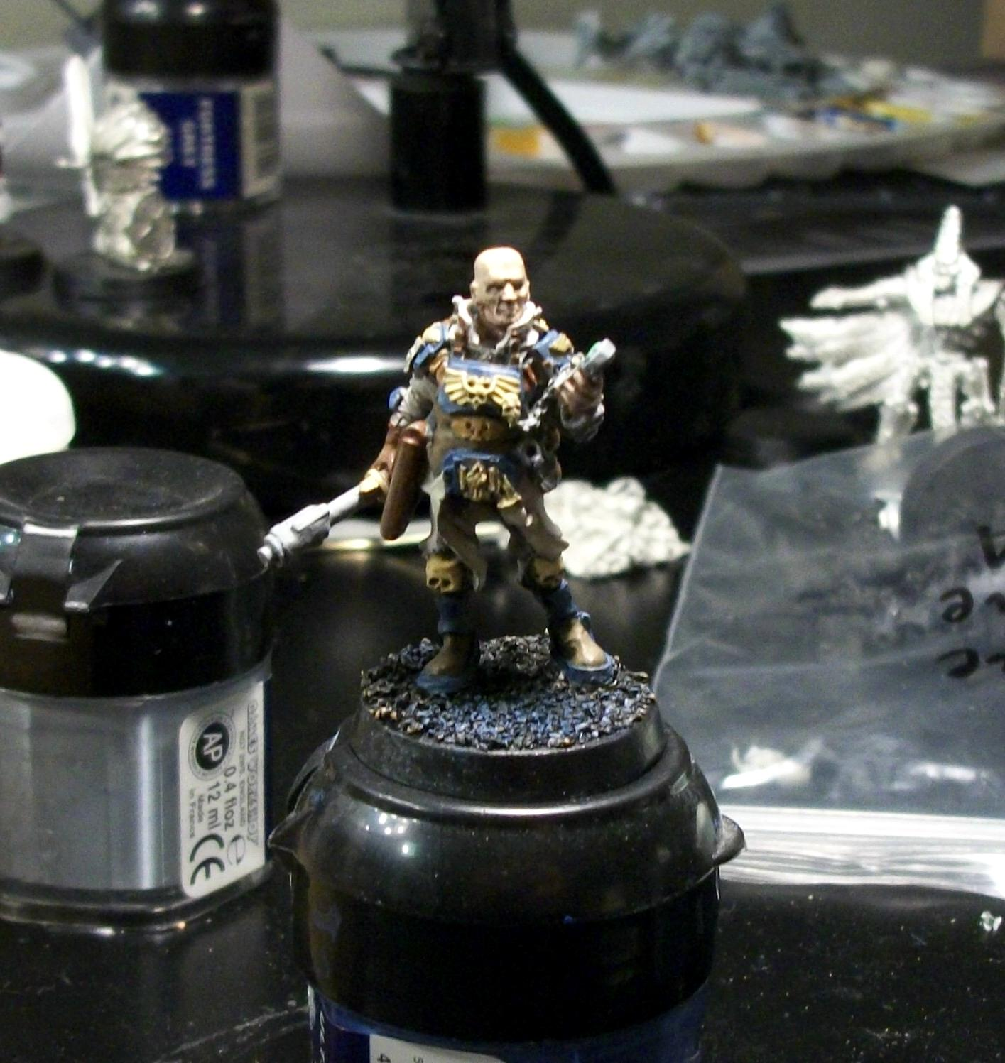 Adeptus Arbites, Enforcer, Forge World, Games Day 2012, Show Only, Warhammer 40,000, Work In Progress