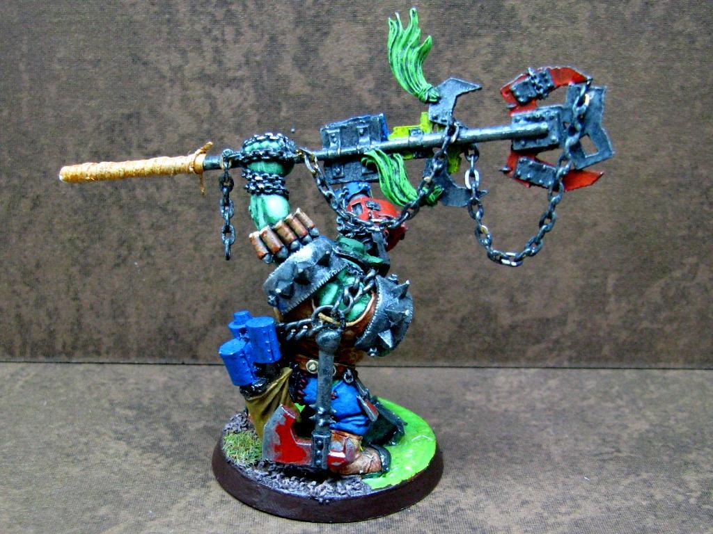 Orks, Warboss, Warhammer 40,000