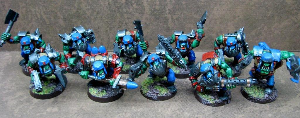 'ard Boyz, 'eavy Armour, Orks, Warhammer 40,000