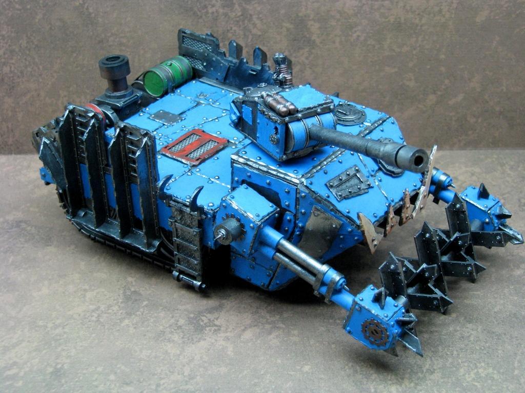Battlewagon, Deathskulls, Looted, Orks, Warhammer 40,000
