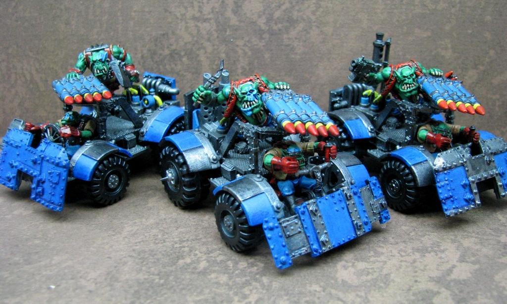 Deathskulls, Orks, Warbuggy, Warhammer 40,000